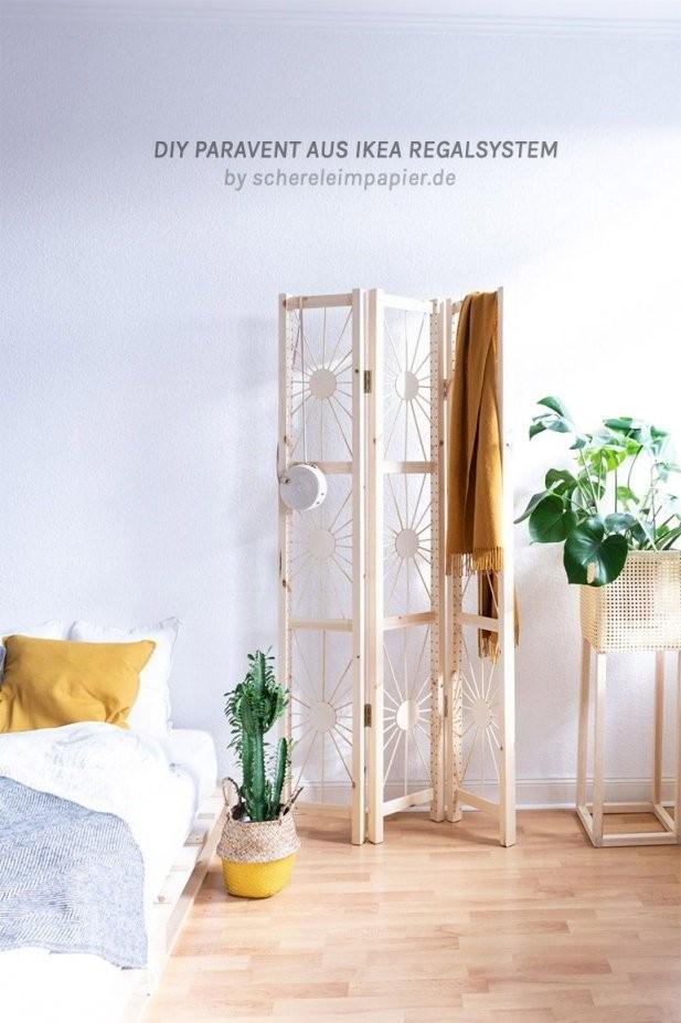 Paravent Selber Bauen  Mein Diy Raumteiler Im Ethno Design  Diy von Paravent Selber Bauen Anleitung Bild