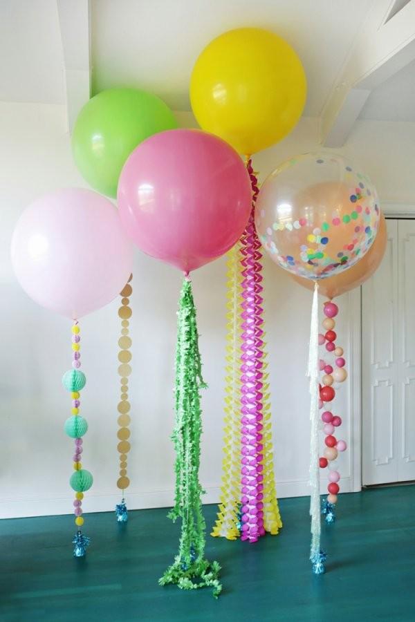 Party Deko Ideen Zum Selbermachen  Anleitungen Für Tolle Partystimmung von Deko Ideen 30 Geburtstag Photo
