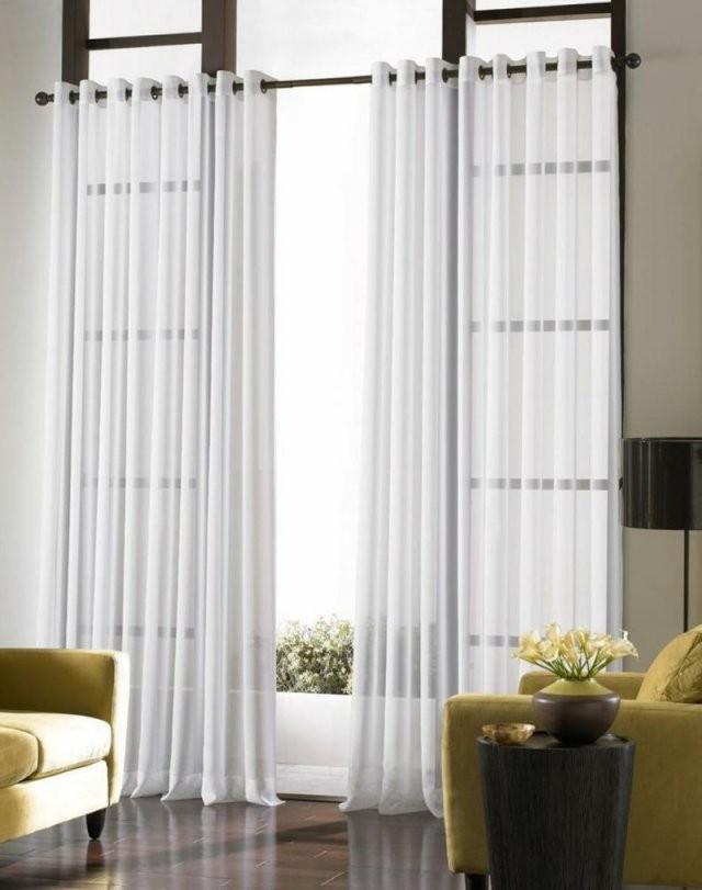 Passende Gardinen Für Das Wohnzimmer Auswählen 20 Schöne ...