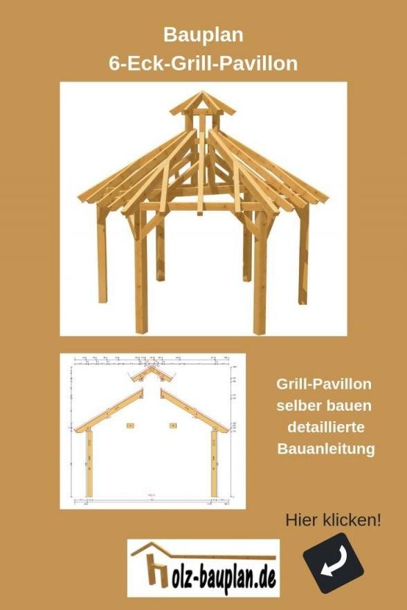 Pavillon Bauen Pavillon Aufbauanleitung Bauplan Pavillon Holz von Gartenpavillon Selber Bauen Anleitung Bild