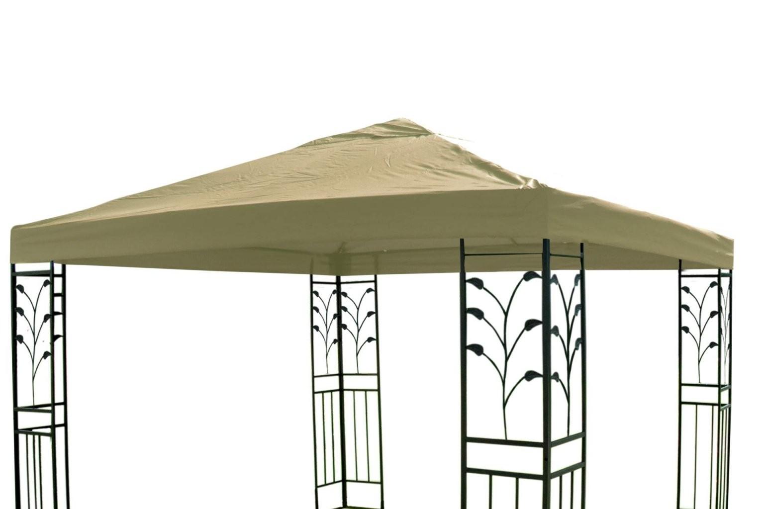 Pavillon Ersatzdach 3 X 3 M In Beige Dach Pavillon Pavillion von Ersatz Pavillon Dach 3X3 Bild