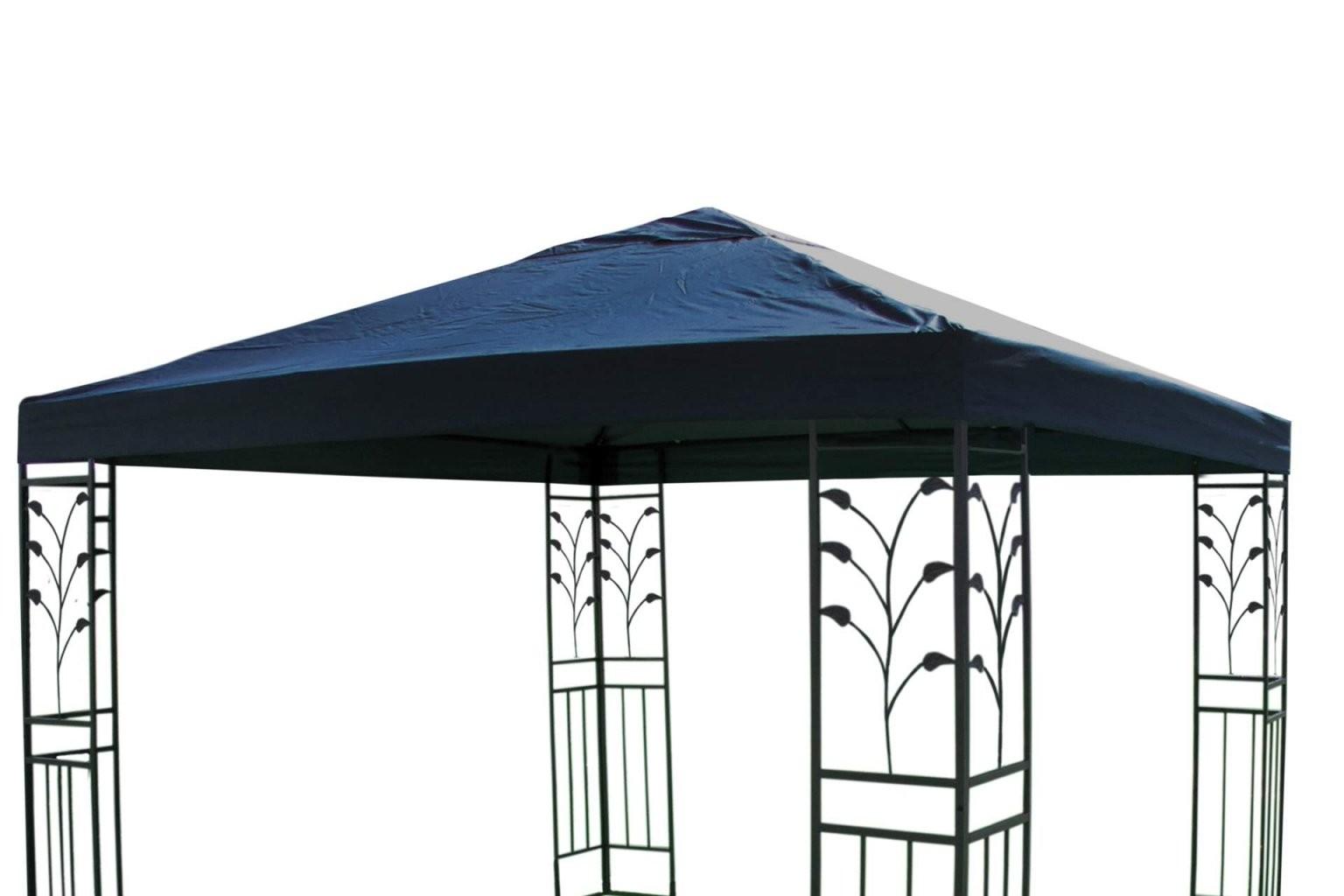 Pavillon Ersatzdach 3 X 3 M In Blau Dach Pavillon Pavillion  Kaufen von Pavillon Dach 3X3M Wasserdicht Bild