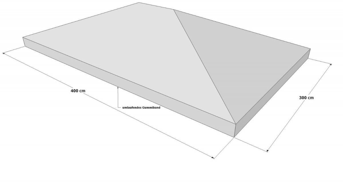 Pavillon Ersatzdach 3X4  Schutzhülle  Wasserdicht von Ersatzdach Pavillon 3X4 Wasserdicht Bild