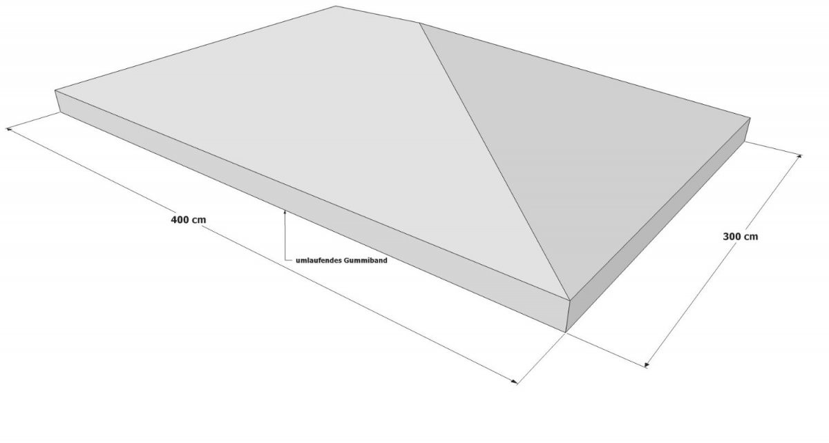 Pavillon Ersatzdach 3X4  Schutzhülle  Wasserdicht von Pavillon Dach 3X4 Wasserdicht Bild