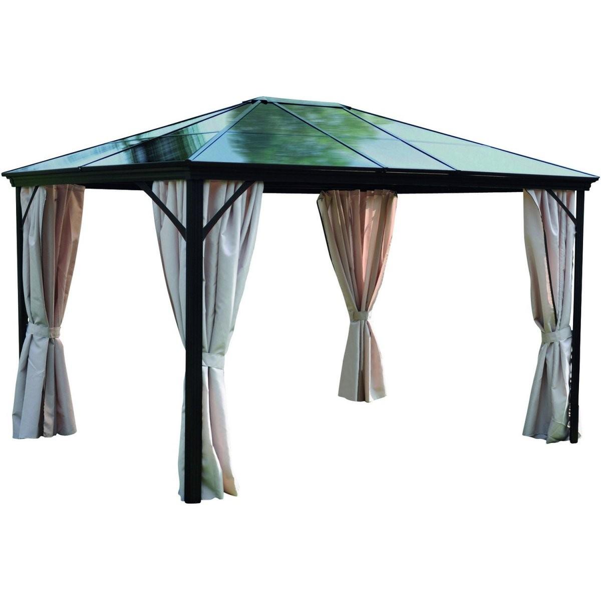 Pavillon Online Kaufen Bei Obi von Pavillon Metall 3X4M Wasserdicht Bild