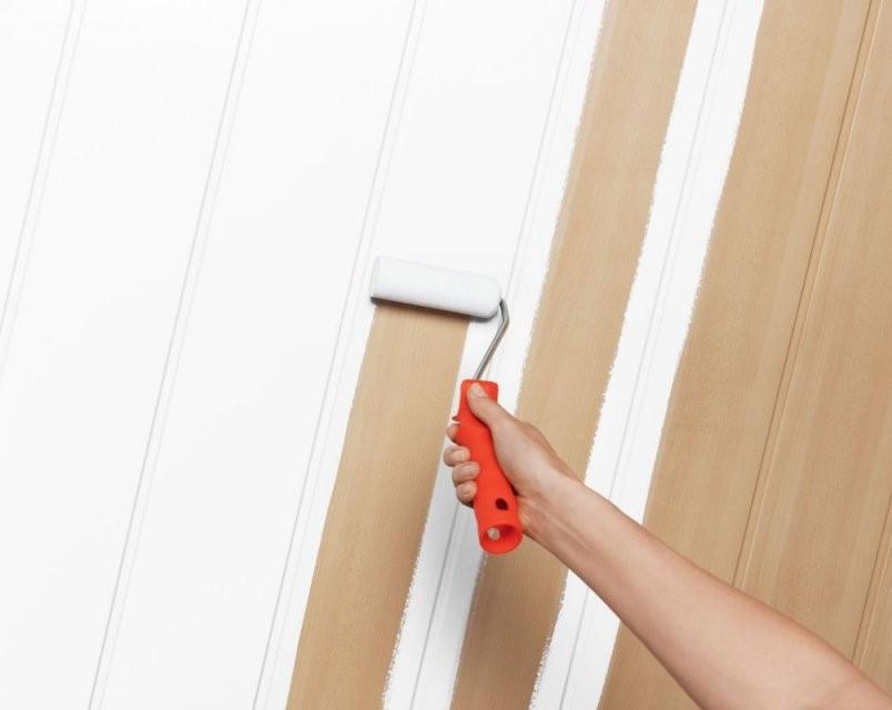 Pep Up Renovierfarbe Für Holzvertäfelungen  Schöner Wohnen Farbe von Paneele Streichen Ohne Schleifen Photo