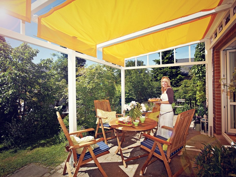 Pergola Selber Bauen Sonnenschutz Auf Der Terrasse von Pergola Selber Bauen Terrasse Photo