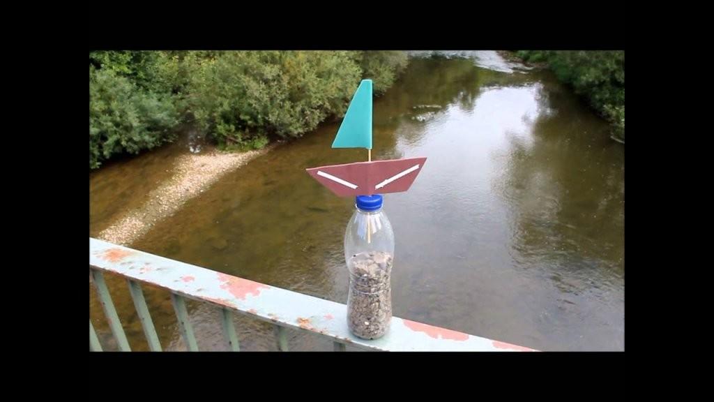 Pet Flaschen Boot Boot Mit Kindern Bauen  Youtube von Boote Basteln Mit Kindern Photo