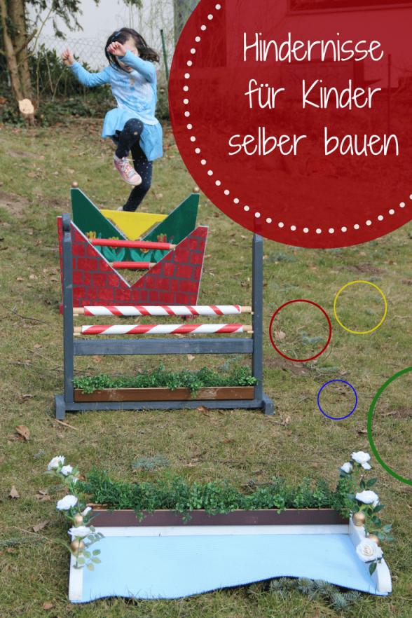 Pferde Hindernisse Für Kinder Selbst Gebaut  Spielgeräte Für Den von Spielgeräte Garten Selber Bauen Photo