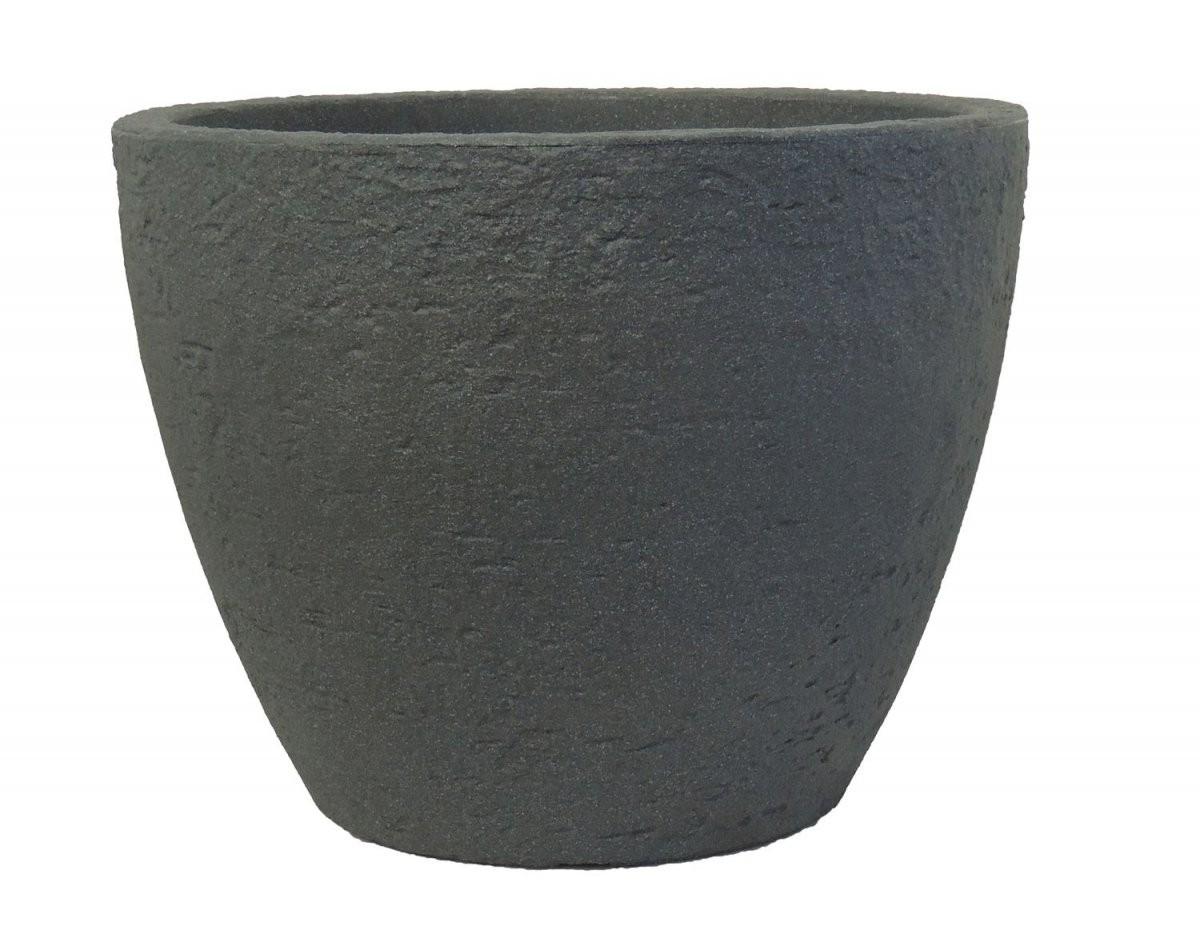 Pflanzkübel Stone 80 Cm Durchmesser Aus Kunststoff Steinoptik von Pflanzkübel 80 Cm Durchmesser Bild