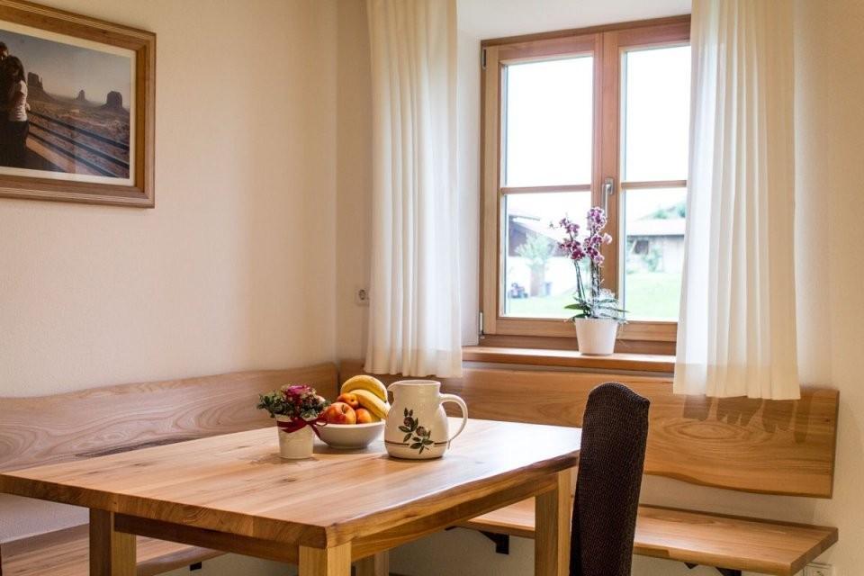 Pin Von Kristin Homer Auf Dining Nook In 2019  Eckbank Küche von Sitzbank Küche Selber Bauen Bild