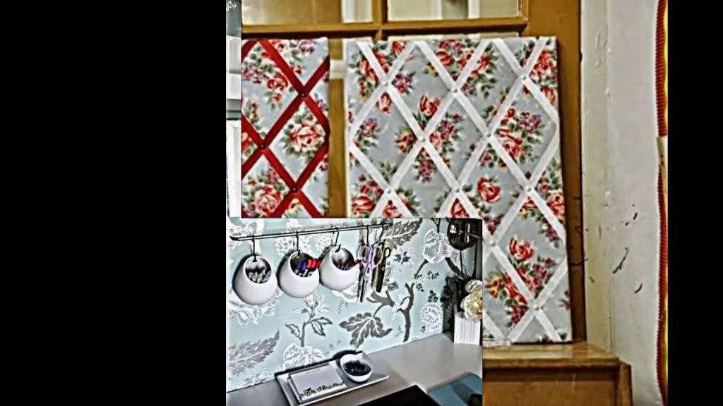 Pinnwand Zum Selbermachen  Einfache Anweisungen Für Die von Pinnwand Selber Machen Stoff Photo