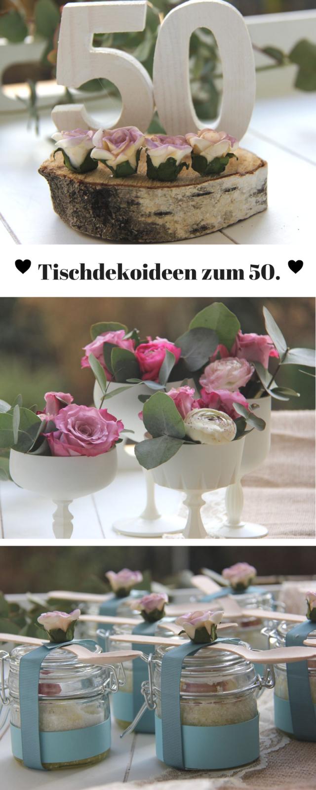 Pinterest von Tischdeko 50 Geburtstag Winter Bild