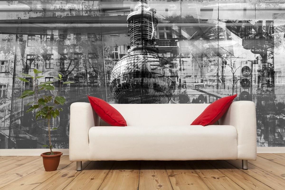 Pixblick  Fototapeten  Fenstersticker  Wandbilder  Fototapete von Fototapete Collage Selbst Gestalten Bild