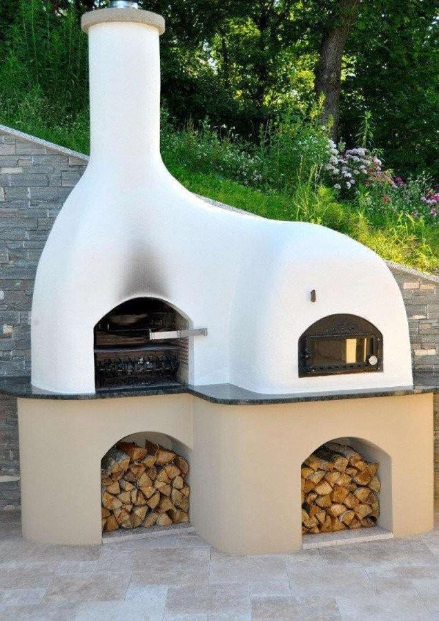 Pizzaofen Garten Selber Bauen Einzigartig Grill Pizzaofen von Gartenkamin Grill Selber Bauen Bild