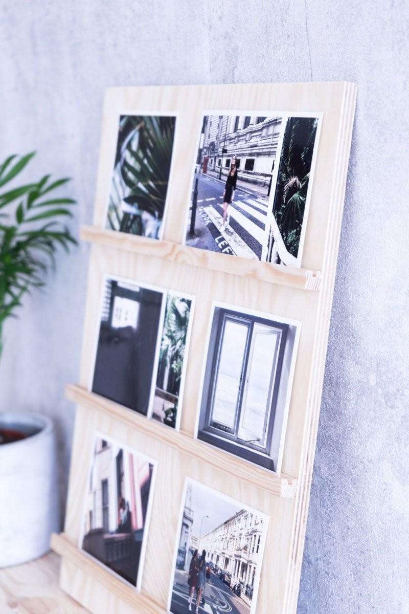 Platz Für Erinnerungen Sperrholz Bilderrahmen Basteln  Wood von Kreative Bilder Selbst Gestalten Photo