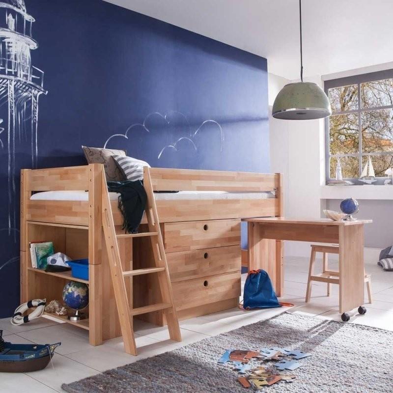 Platzsparende Kinderhochbetten Mit Schreibtisch Und Schrank von Bett Mit Schreibtisch Und Schrank Photo