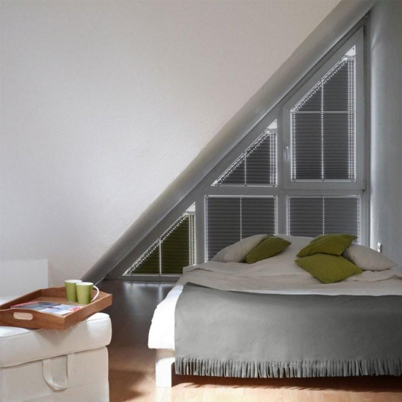 Plisseerollos Für Giebelfenster  Rollomeister von Rollos Für Dreiecksfenster Innen Photo