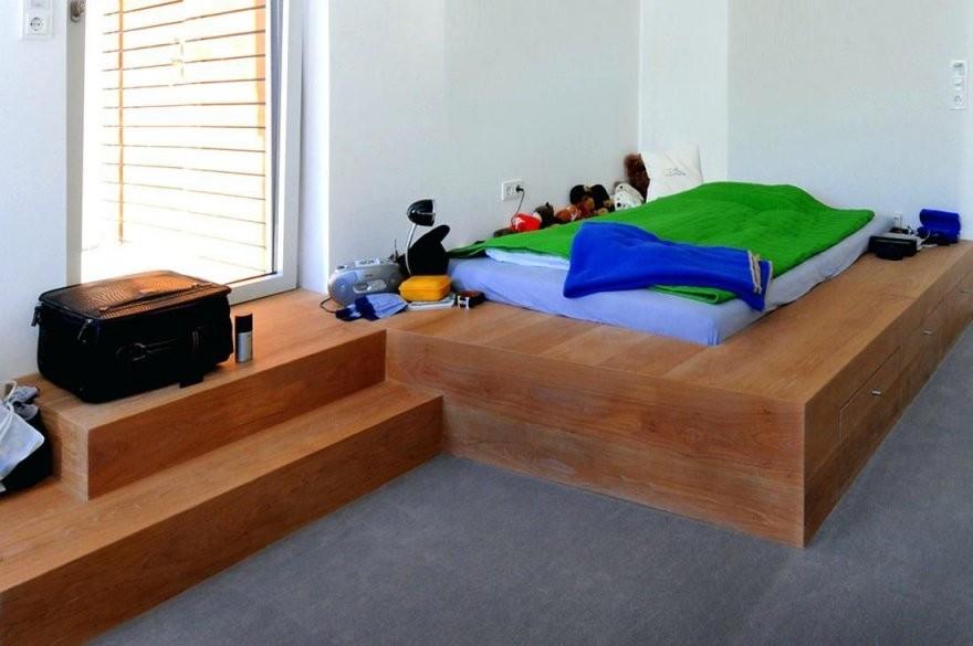 Podest Bett Gastebett Bauanleitung Podestbett Kaufen Selber Bauen von Podest Bett Aus Paletten Photo