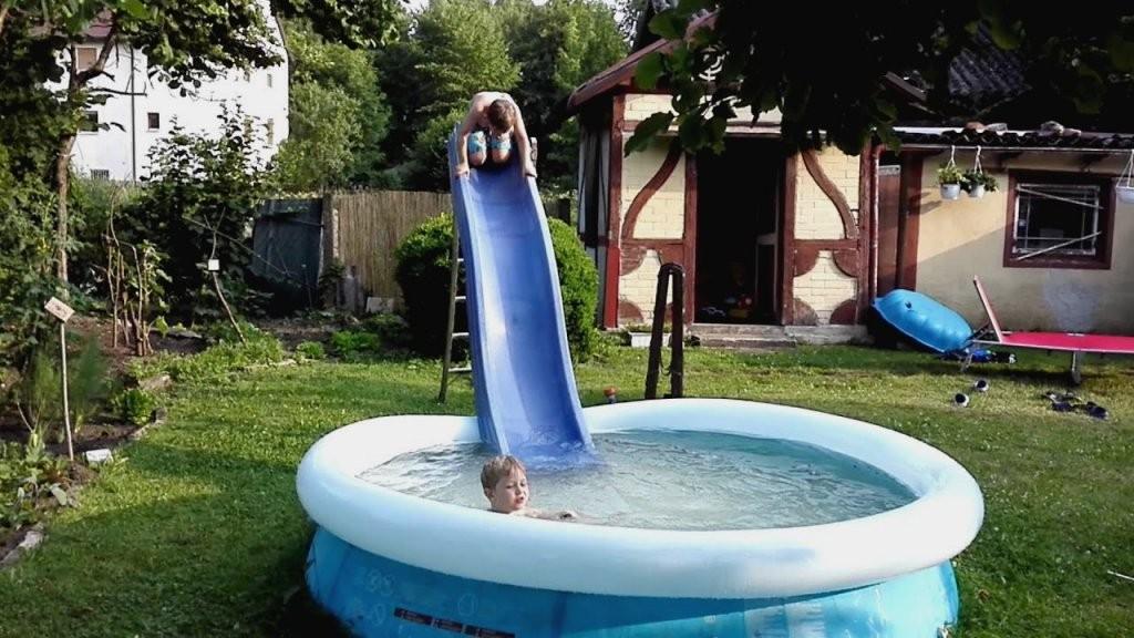 Pool Rutsche Selber Bauen  Dekorieren Bei Das Haus von Pool Rutsche Selber Bauen Bild