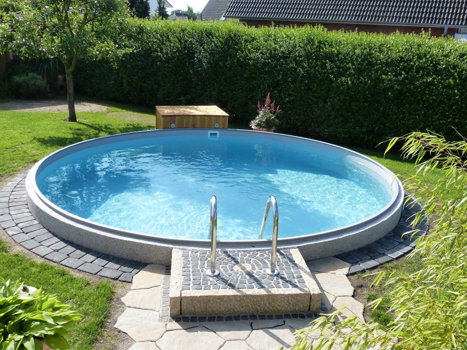 Poolakademie  Bauen Sie Ihren Pool Selbst Wir Helfen Ihnen von Kleiner Pool Im Garten Selber Bauen Photo