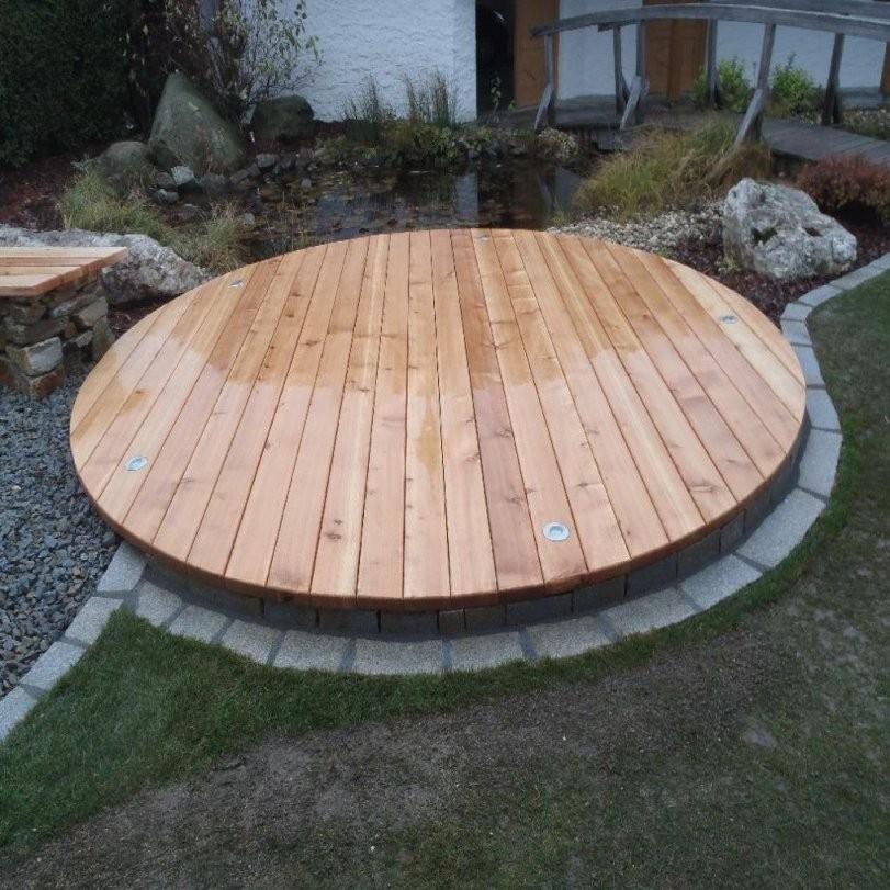 Poolumrandung Holz Selber Bauen Mit Rund Bvrao Durchgehend 0 Und von Whirlpool Selber Bauen Holz Photo
