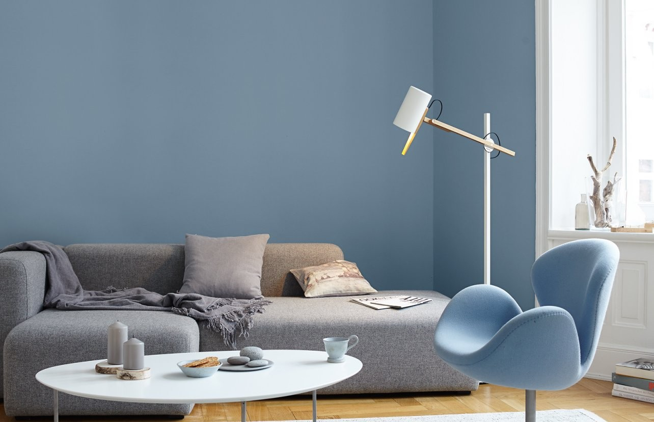 Premiumwandfarbe Blau Graublau Alpina Feine Farben Ruhe Des von Alpina Ruhe Des Nordens Photo