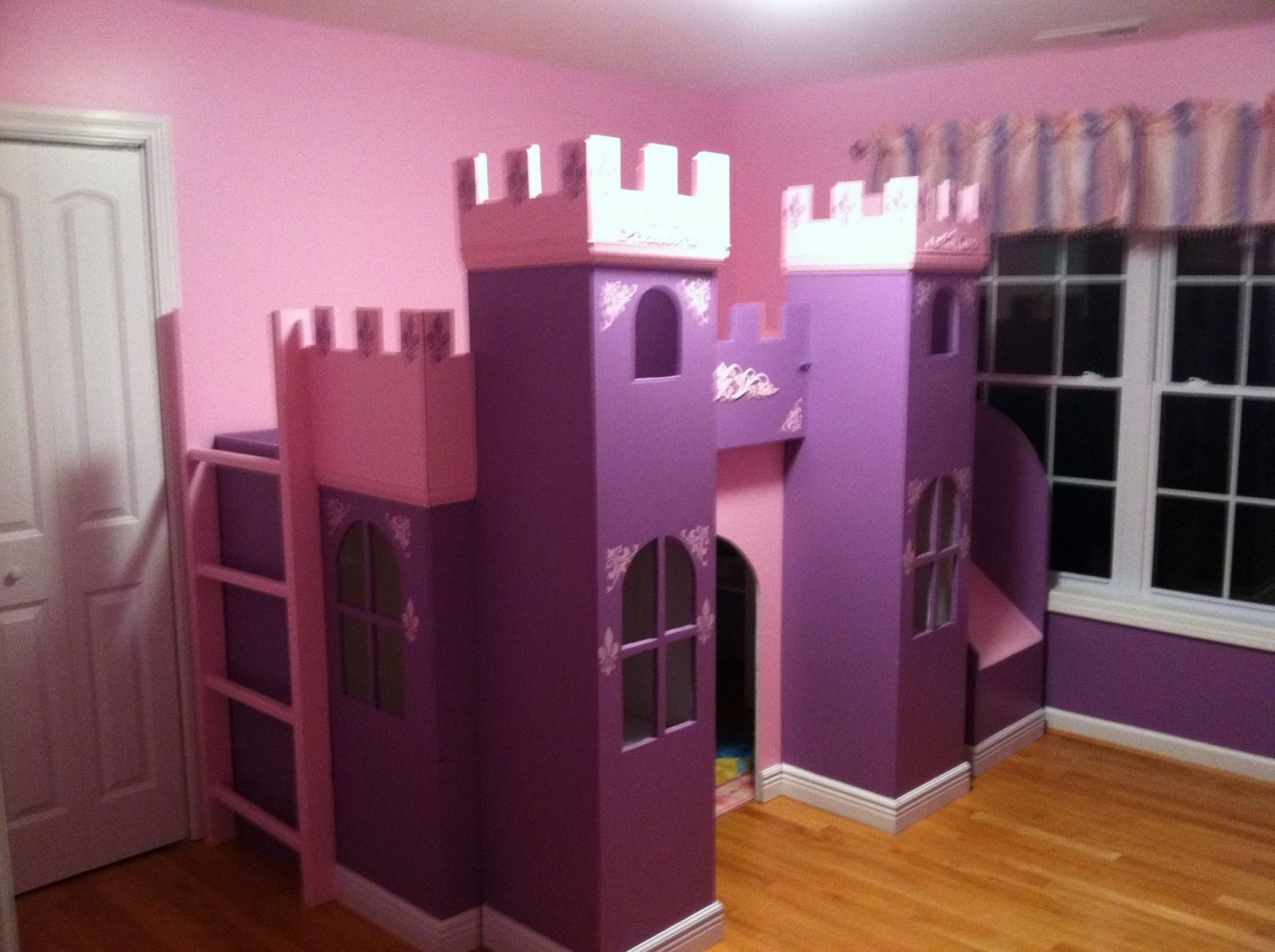 Princess Bed  Castle Bed  Playhouse  Kinderbett Für von Prinzessin Hochbett Selber Bauen Photo