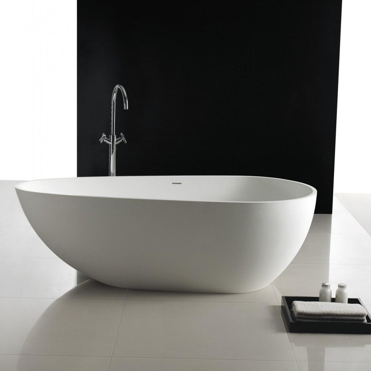 Produkt Kategorie Wannen  Stilform von Freistehende Badewanne Mineralguss Oder Acryl Bild