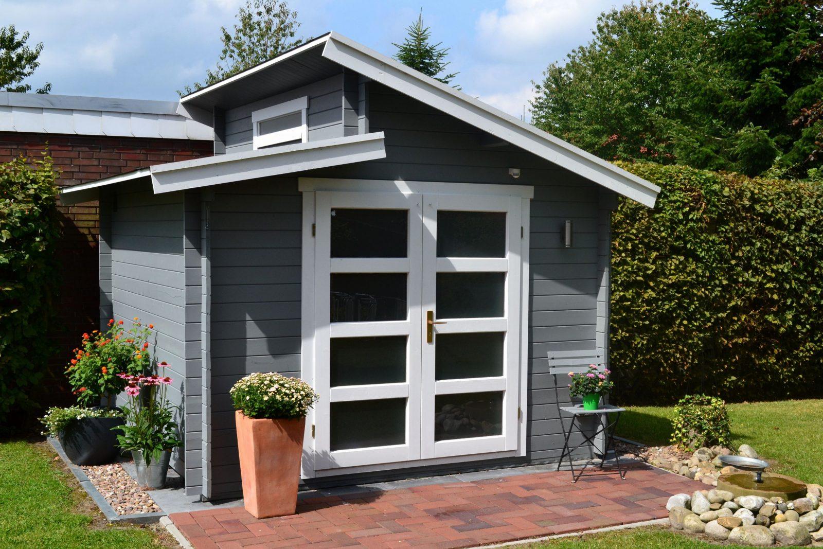 Pultdach Gartenhaus Selber Bauen Ideen Gartenhaus Fenster Selber Für von Gartenhaus Modern Selber Bauen Photo