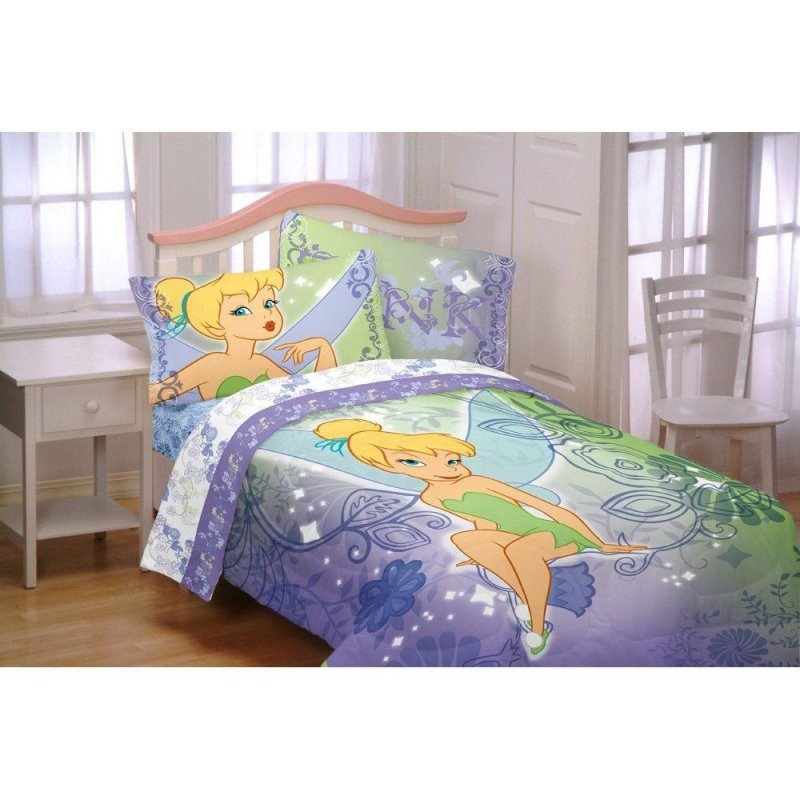 Purple Blue And Green Tinker Bell Beddingif Only They Made This von Tinker Bell Bed Sets Photo
