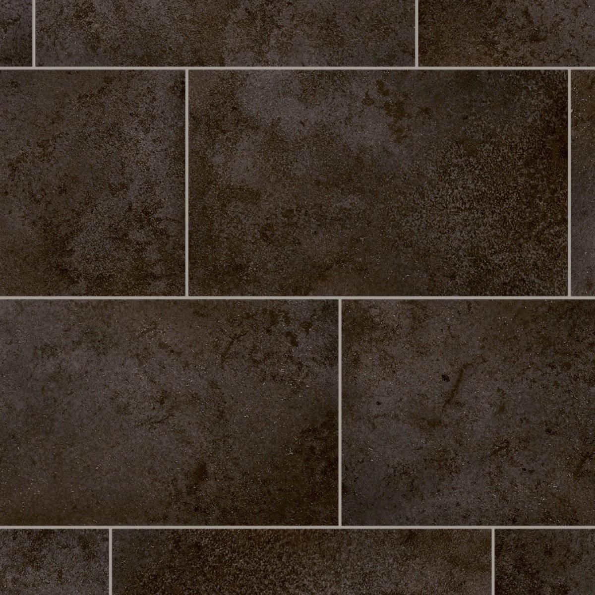 Pvcbodenbelag Presto Galerie 599 Schwarz 400 Cm Kaufen Bei Obi von Pvc Boden Fliesenoptik Grau Bild