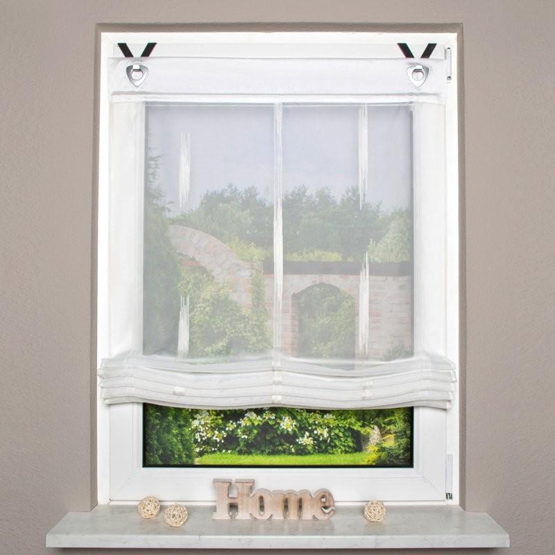Raffrollo Mit Ösen  Fertiggardinen  Fenster  Produkte  Ttlttm von Rollo Mit Ösen Und Fensterhaken Photo