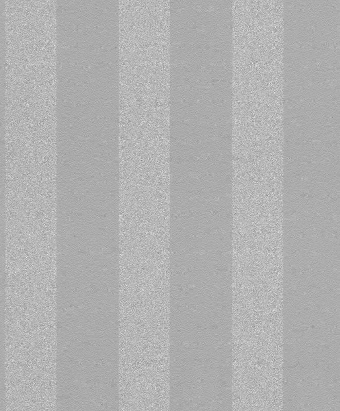 Rasch Vlies Tapete Streifen Grau Silber Glitzer 523539 von Graue Tapete Mit Glitzer Photo