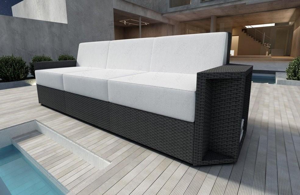 Rattan Lounge Sofa Aventador 3 Sitzer V1 In 2019  Sofas von Rattan Sofa Mit Schlaffunktion Bild
