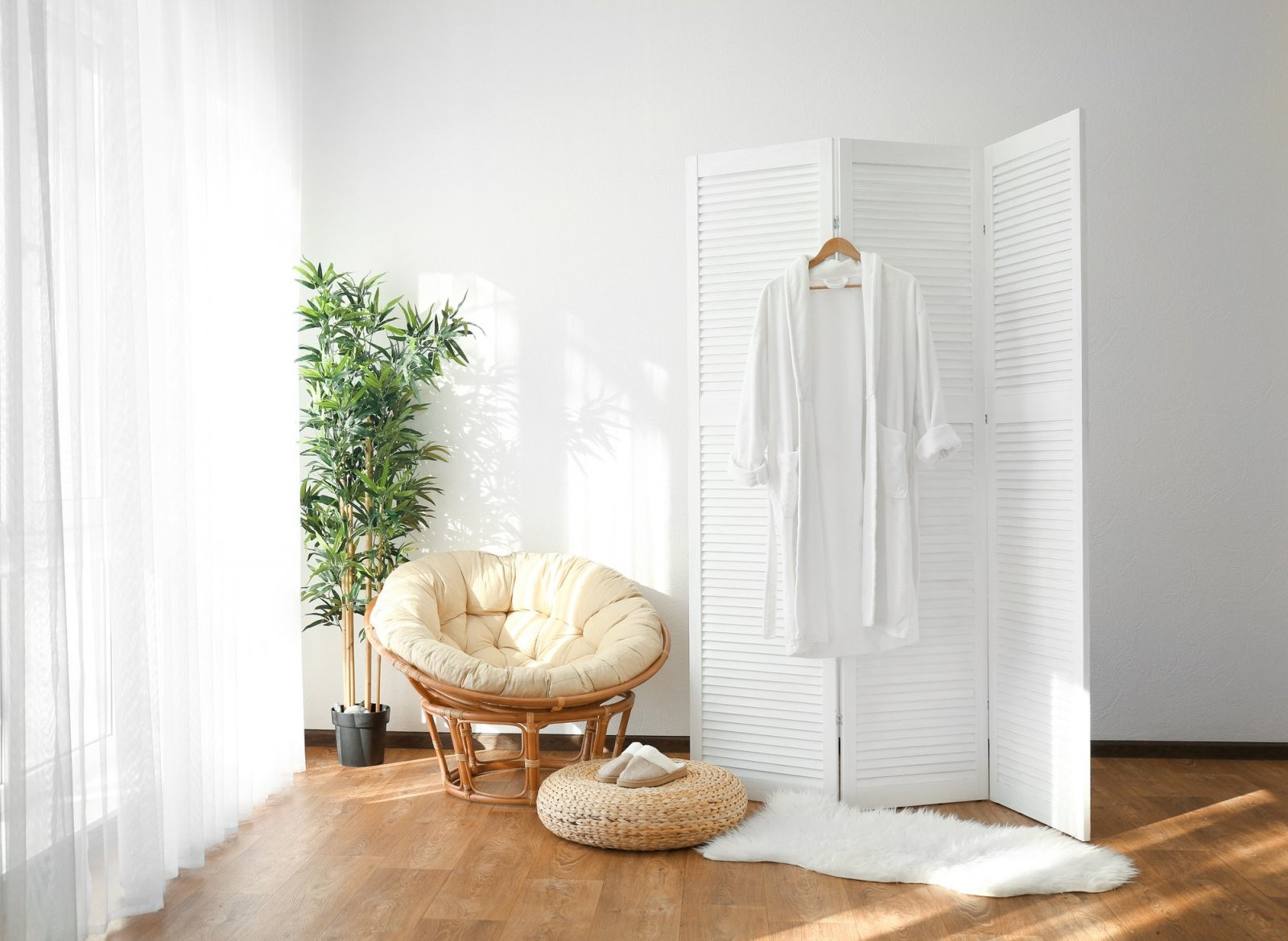 Raumteiler Selber Bauen  Heimhelden von Raumteiler Vorhang Selber Machen Bild