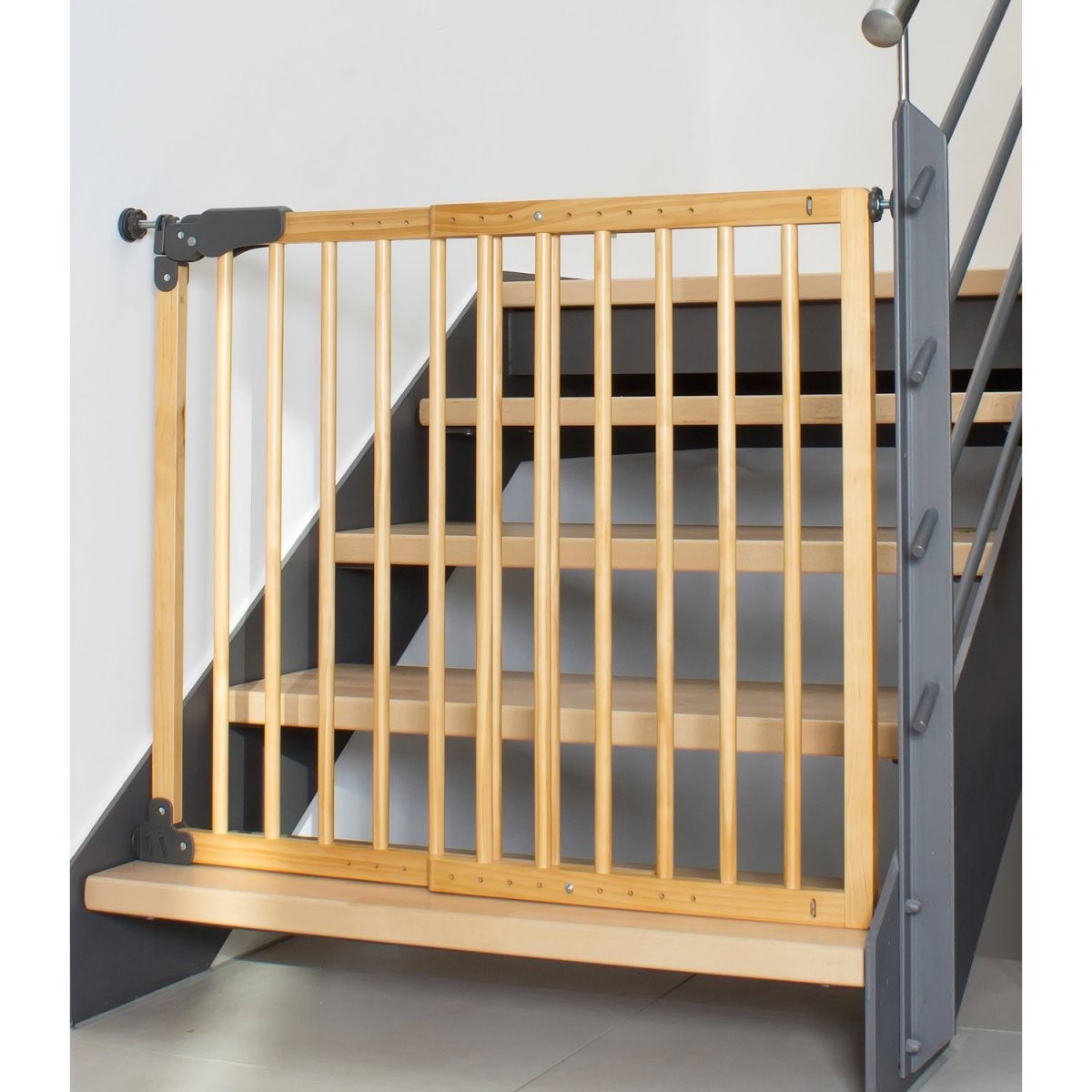 Reer Klemm Und Schraubgitter Basic Holz Gitterbreite Von 730 Mm  1045 Mm von Kindersicherung Treppe Selber Bauen Photo