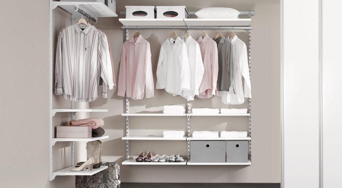 Regalsystem Kleiderschrank  Kleiderschranksystem  Regalraum von Kleiderschrank Inneneinrichtung Selber Bauen Photo