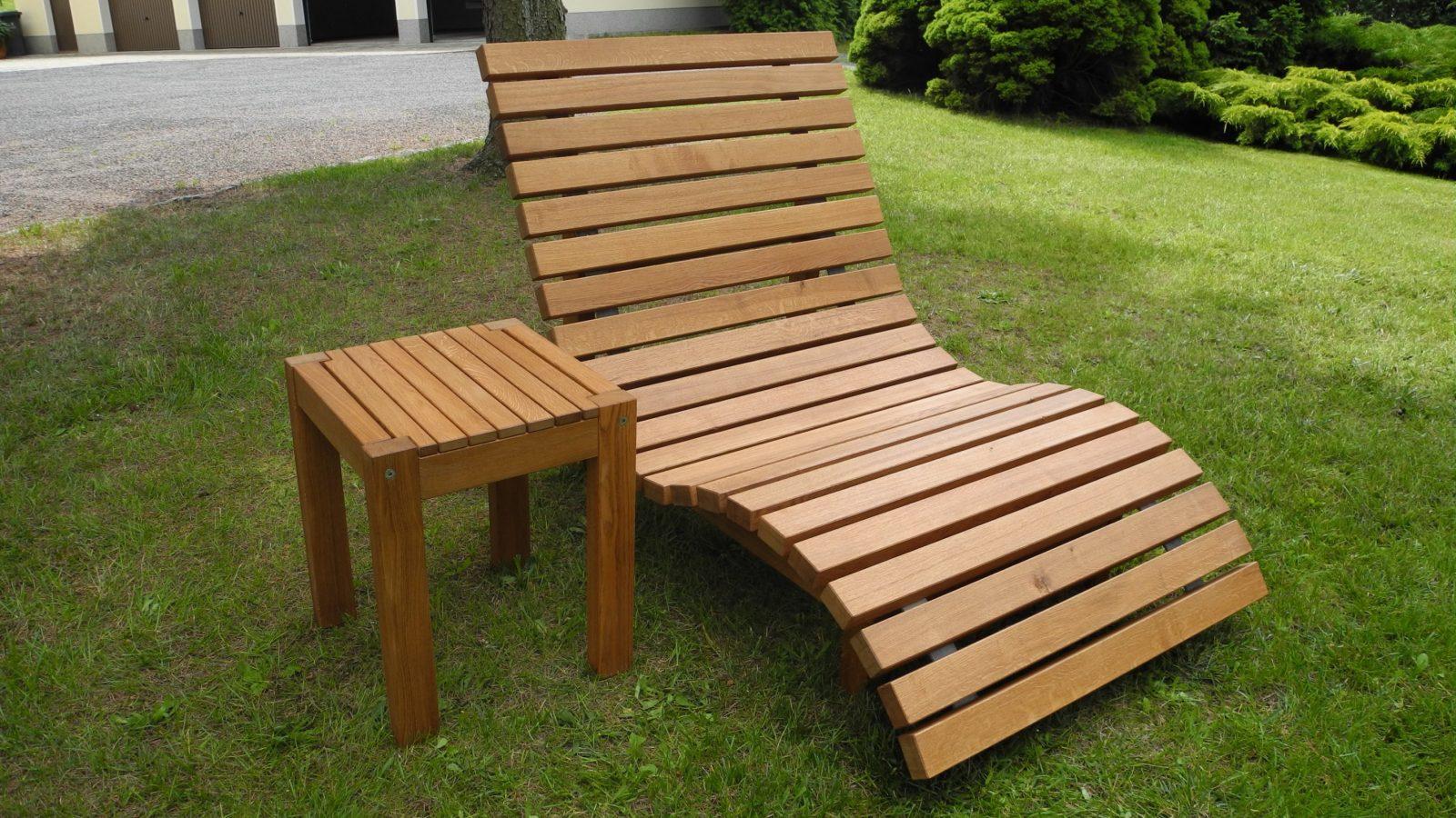 Relaxliege Aus Eiche  Die Holzfabrik von Relaxliege Für 2 Personen Bild