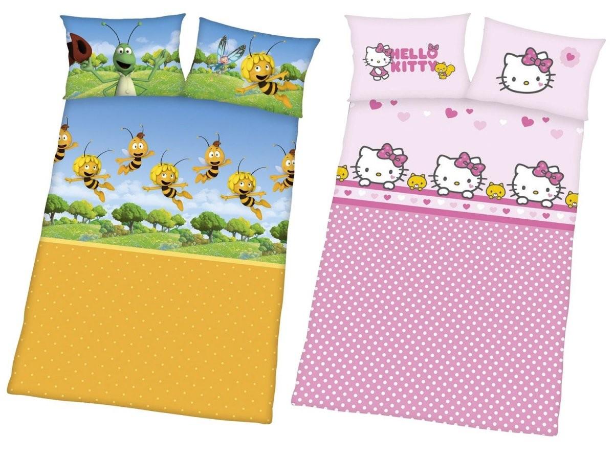 Renforcébettwäsche 100 X 135 Cm  Lidl von Hello Kitty Bettwäsche 100X135 Bild