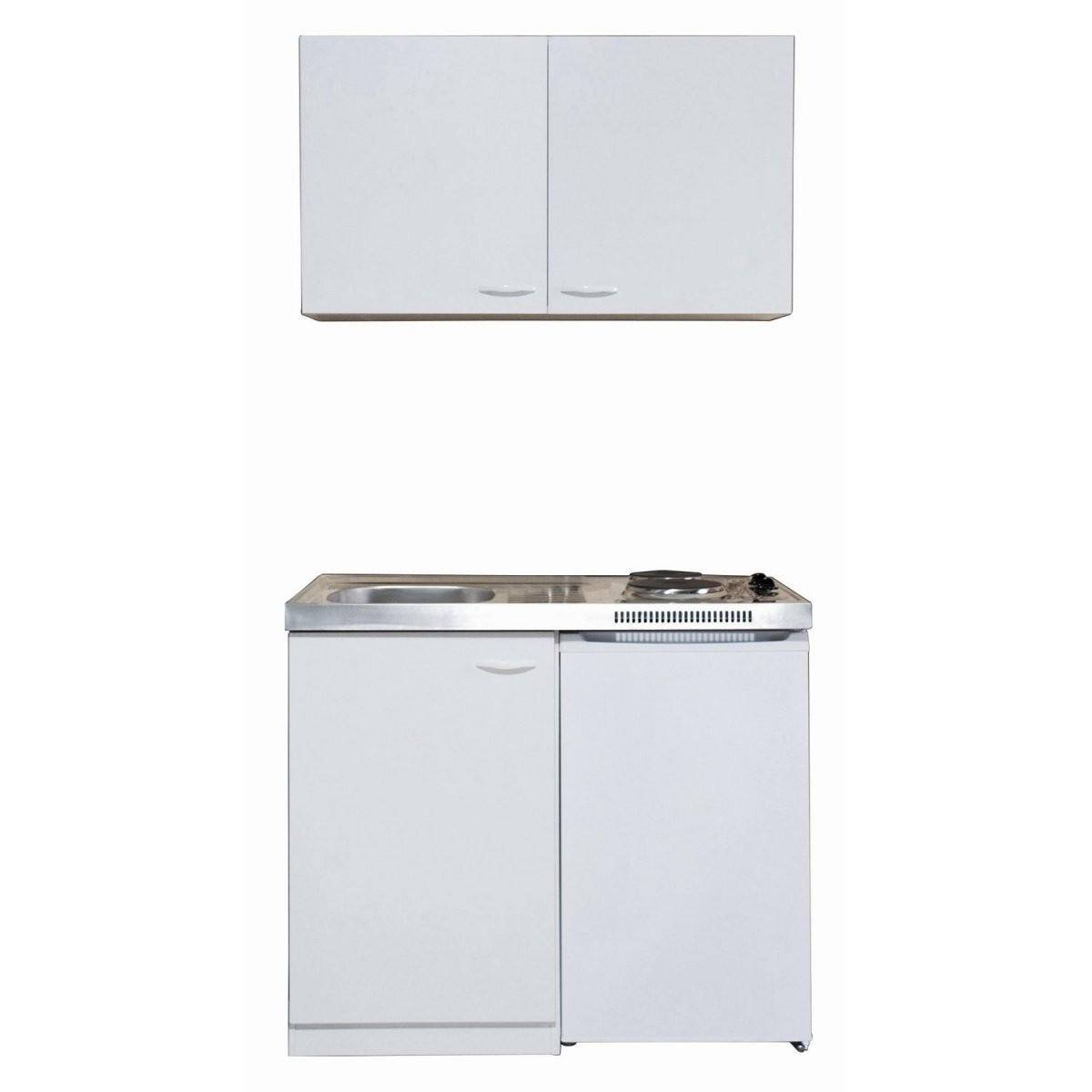 Respekta Miniküche Mk100Wos 100 Cm Weiß Kaufen Bei Obi von Pantryküche 100 Cm Mit Kühlschrank Bild