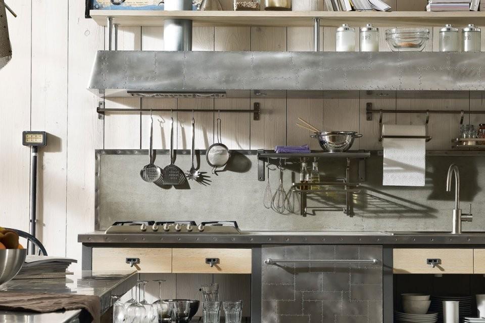 Retroküche Coole Trendküchen  Edle Landhausküchen von Küchen Im Vintage Stil Photo