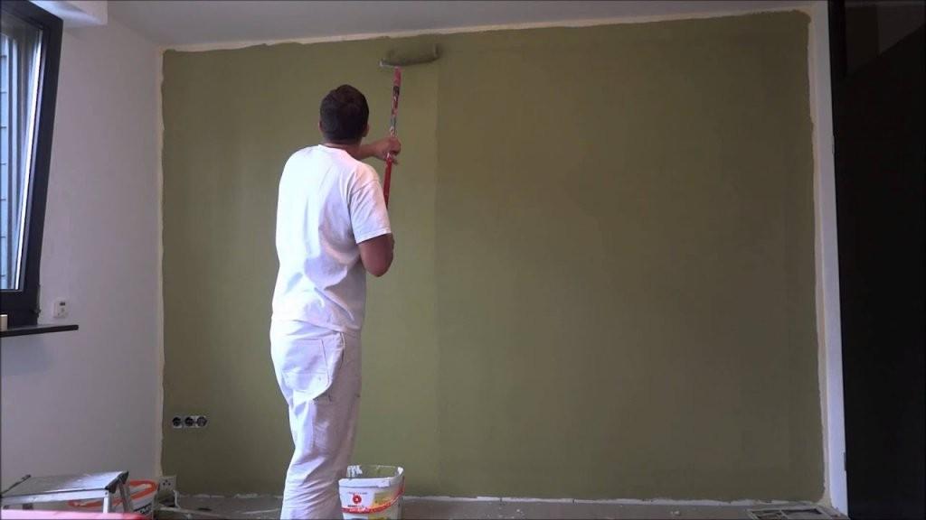Richtig Abkleben Beim Wände Streichen  Youtube von Wand Streichen Streifen Abkleben Bild