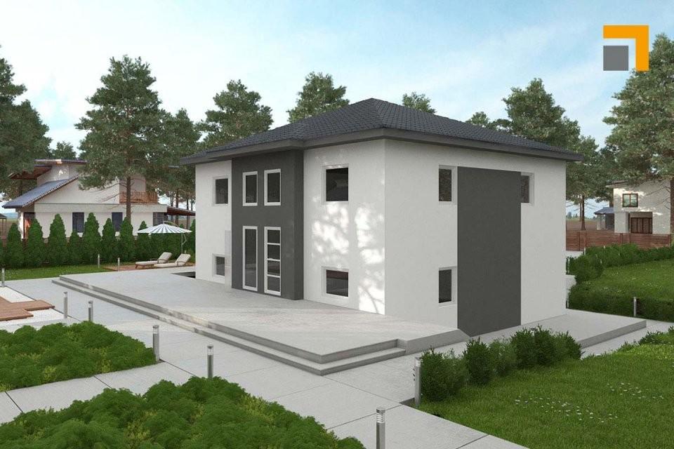 Rkr Haus Grundriss Plan Haustyp Musterhaus Individuell  Rkr von Einfamilienhaus Am Hang Grundrisse Photo