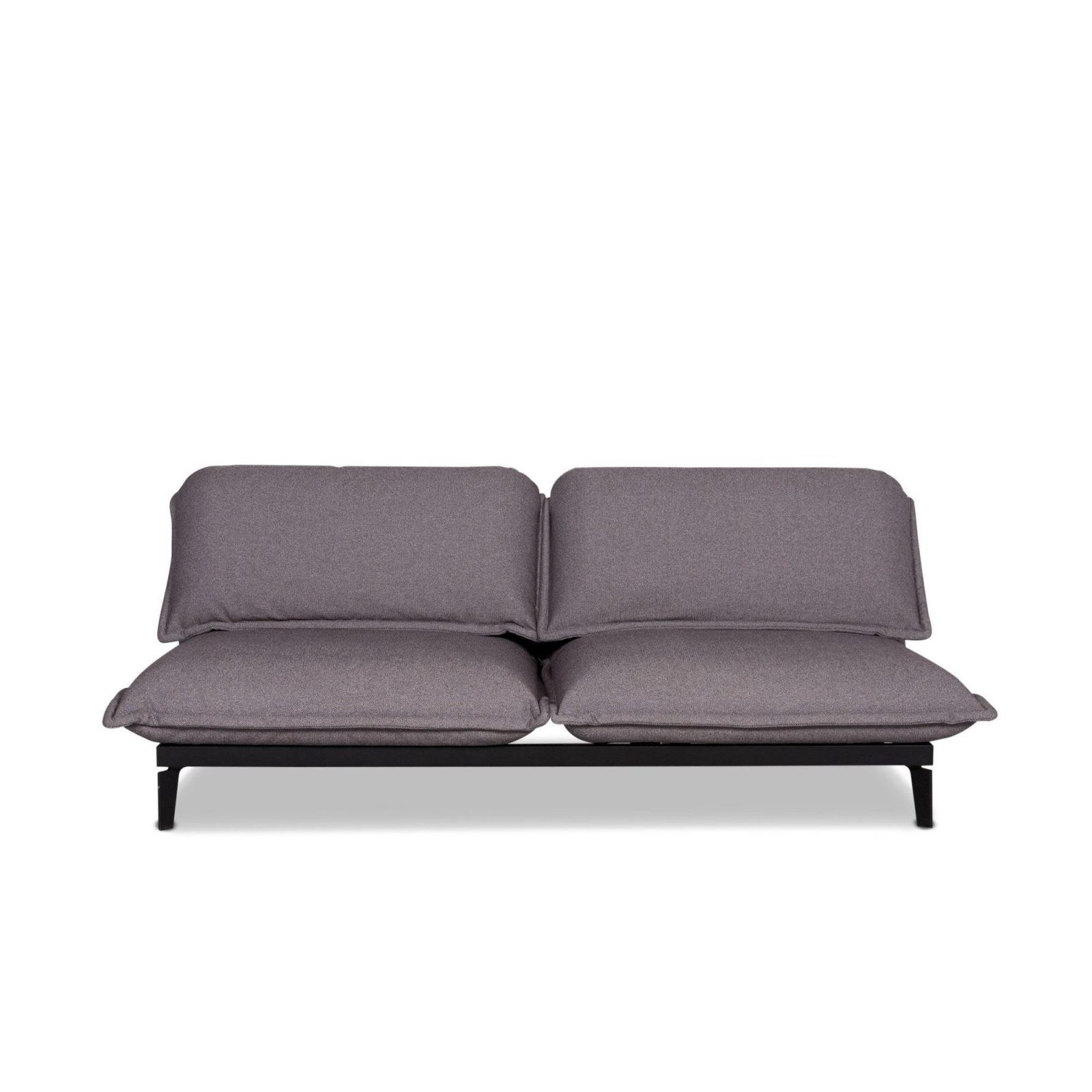 Rolf Benz Nova Designer Fabric Sofa Bed Gray Two Seater Relax von Rolf Benz Sofa Nova Bild