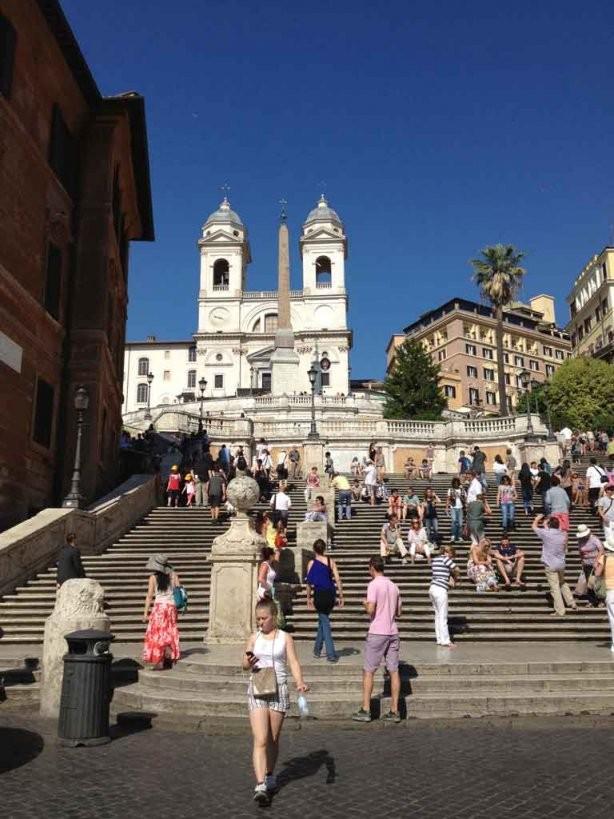 Rom Am Wochenende Tipps Für Deinen Ersten Besuch In Italiens Hauptstadt von Spanische Treppe Rom Gesperrt Bild