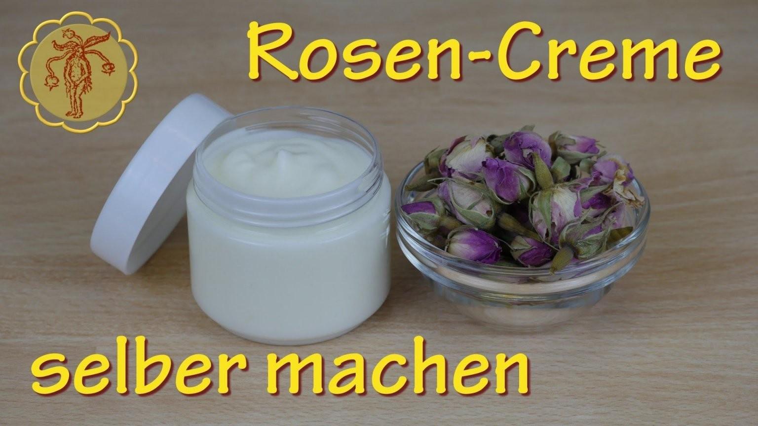 Rosencreme Selber Machen  Für Normale Und Trockene Haut 2 von Lavendel Creme Selber Machen Bild
