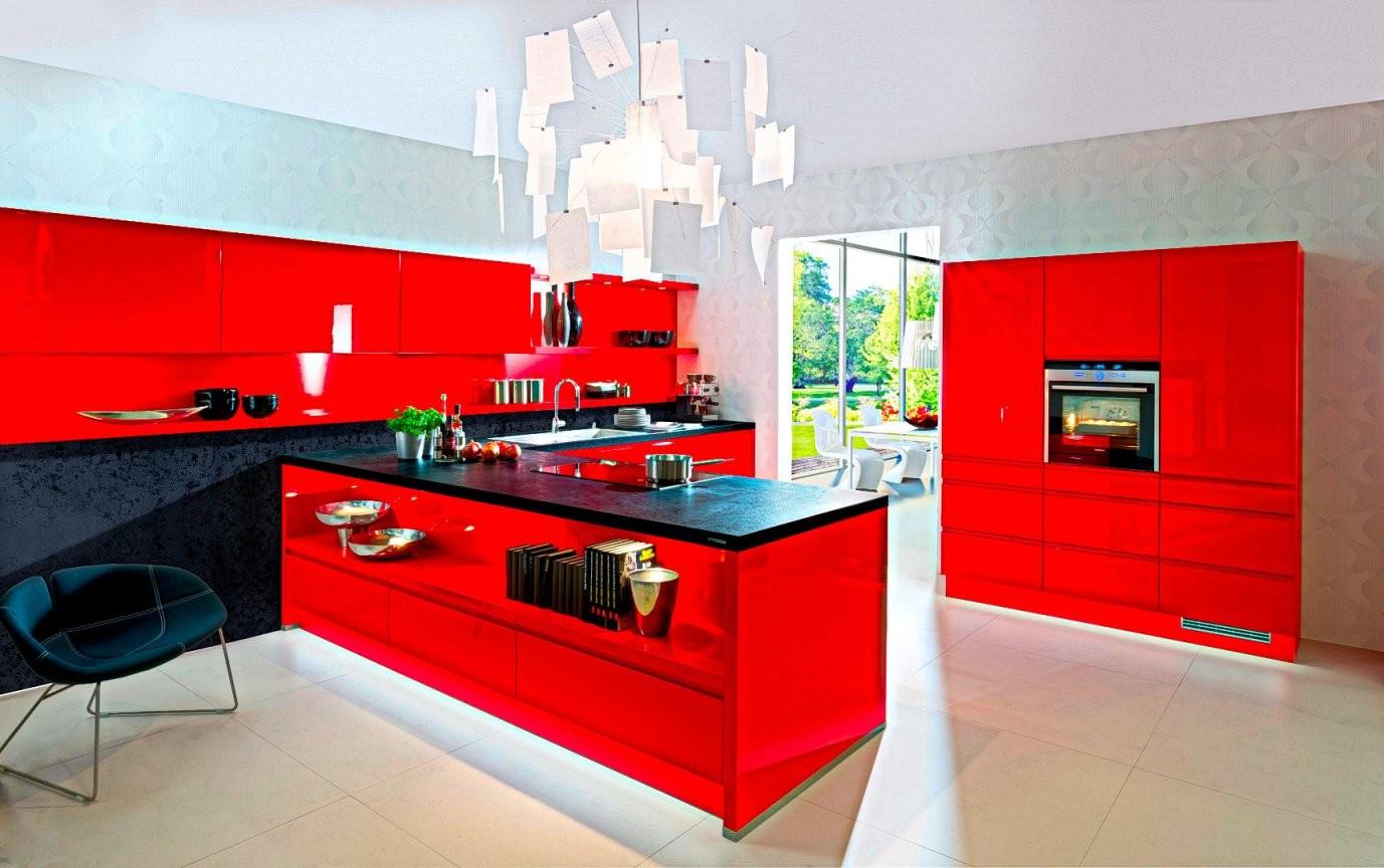 Rote Küche  Günstig Kaufen  Rote Küchen 300 X Sofort Lieferbar von Küche L Form Günstig Kaufen Photo