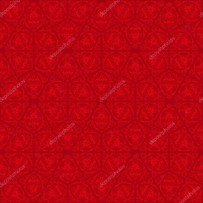 Rote Tapete Muster — Stockvektor © Ruliz 13718207 von Rote Tapete Mit Muster Photo