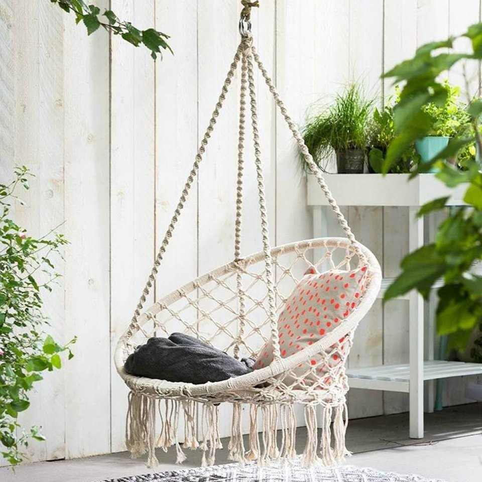 Round Swing Bed Round Rattan Swing Bed Porch And Garden – Title von Round Rattan Swing Bed Photo
